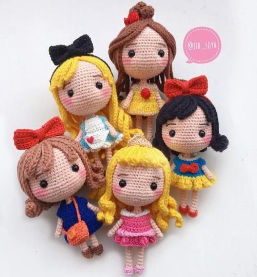 Disney Princess - Free Crochet Pattern