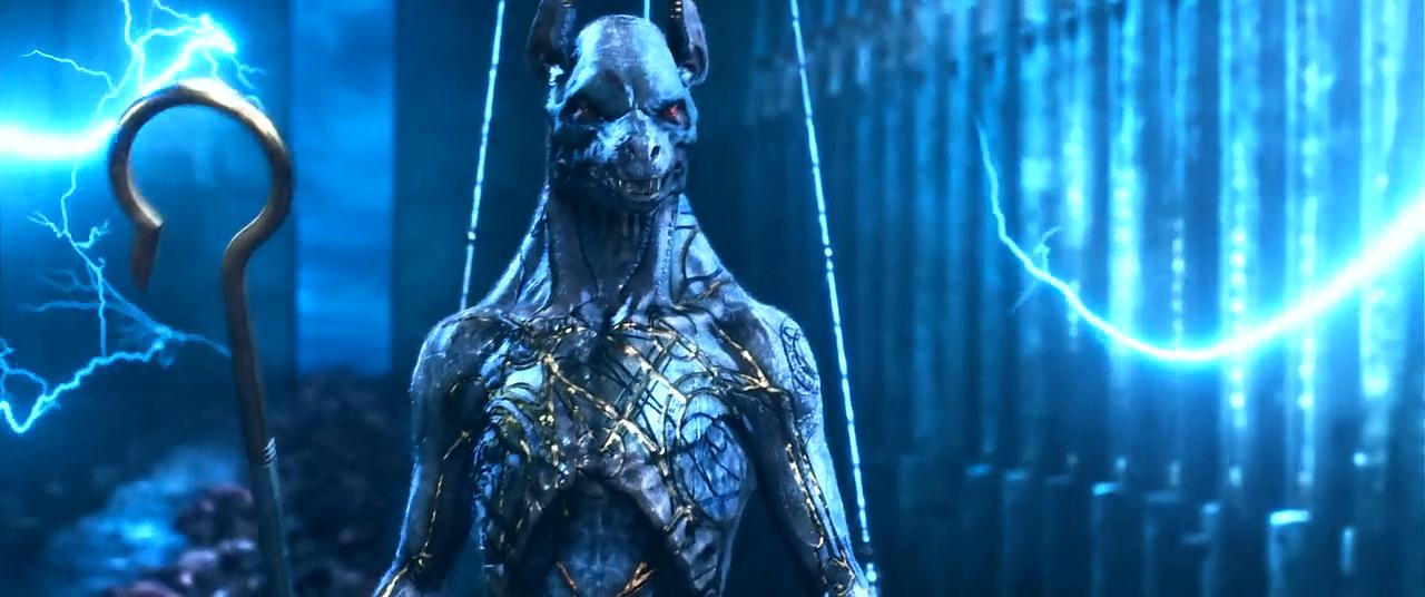 Travis Simpkins Gods Of Egypt 2016 Osiris Isis Set Horus