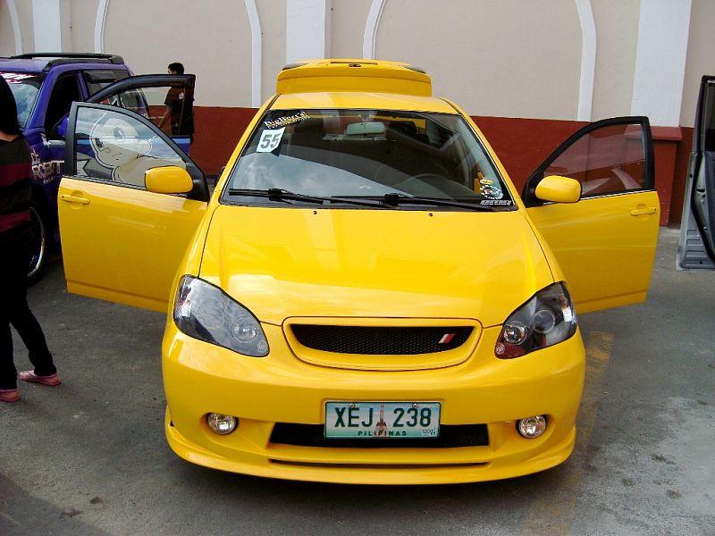 Modified Cars Modified Toyota Corolla 2008