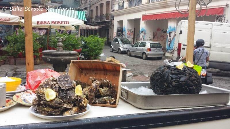 A Palermo anche street food di mare