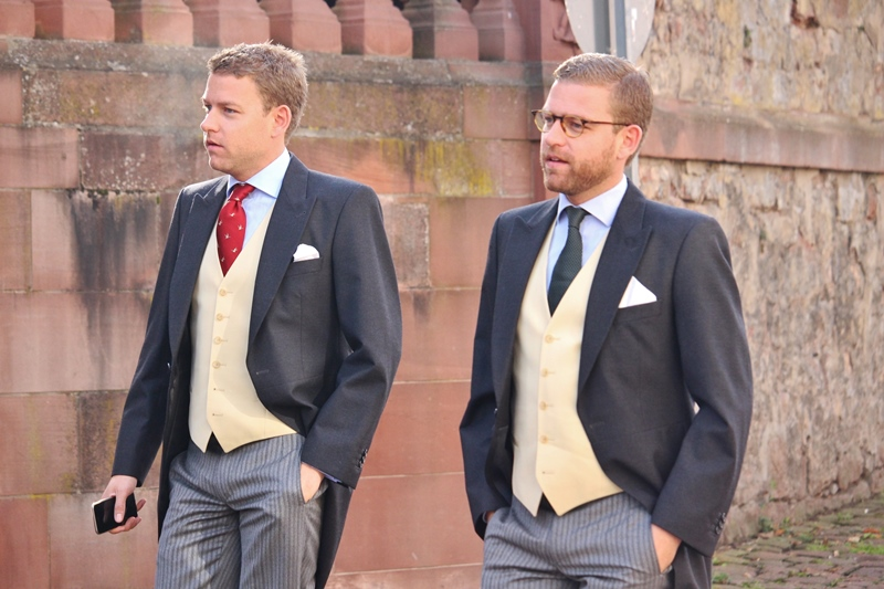Leiningen/Prussia Wedding in Amorbach: The Guests (Part 1)