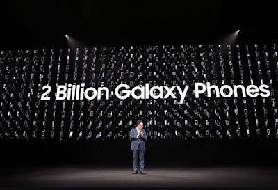 Dalam Waktu 10 Tahun, HP Samsung Terjual Sebanyak 2 Miliar