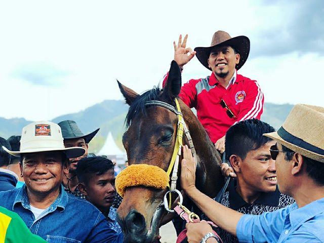 Hasil Produksi Sablon Kaos HUT Kota, Hiburan Rakyat & Pacuan Kuda Tradisional