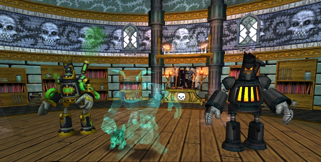 Wizard101 Test Realm: The PolterPooch Pet - Stars of the Spiral