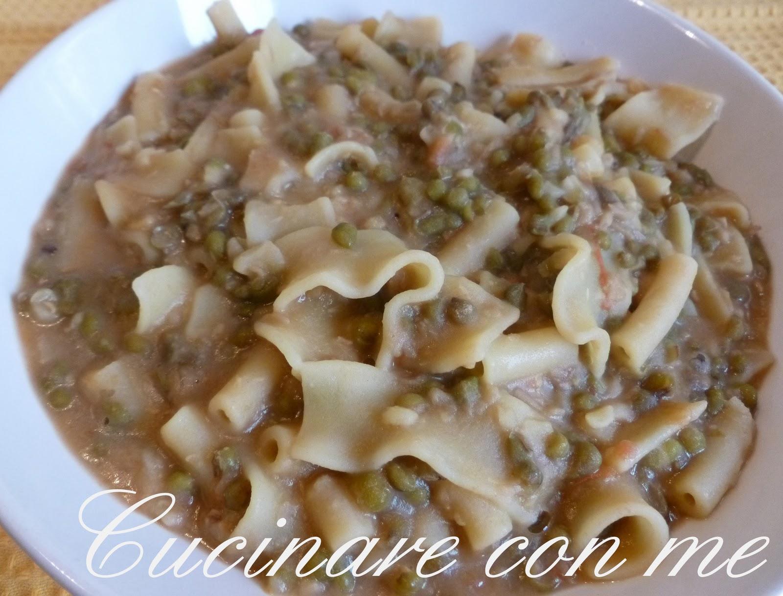 Cucinare con me fagioli azuki verdi con pasta mista for Cucinare 5 minuti