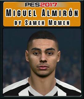 PES 2017 Faces Miguel Almiron by Sameh Momen