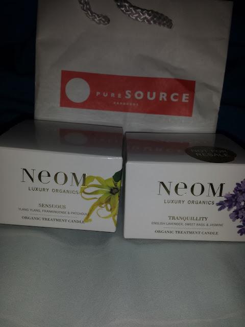 Neom Luxury Organics Candle haul www.modenmakeup.com