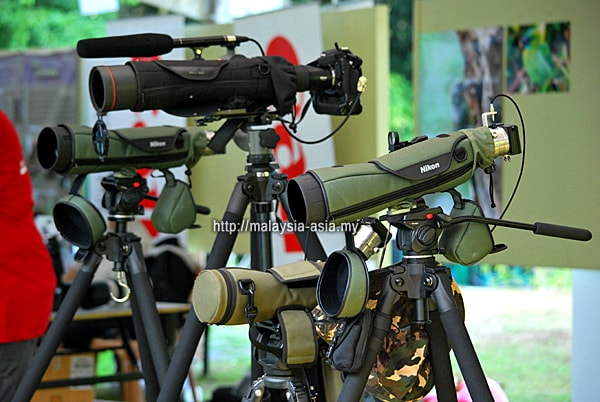 Sabah Bird Watching Equipment