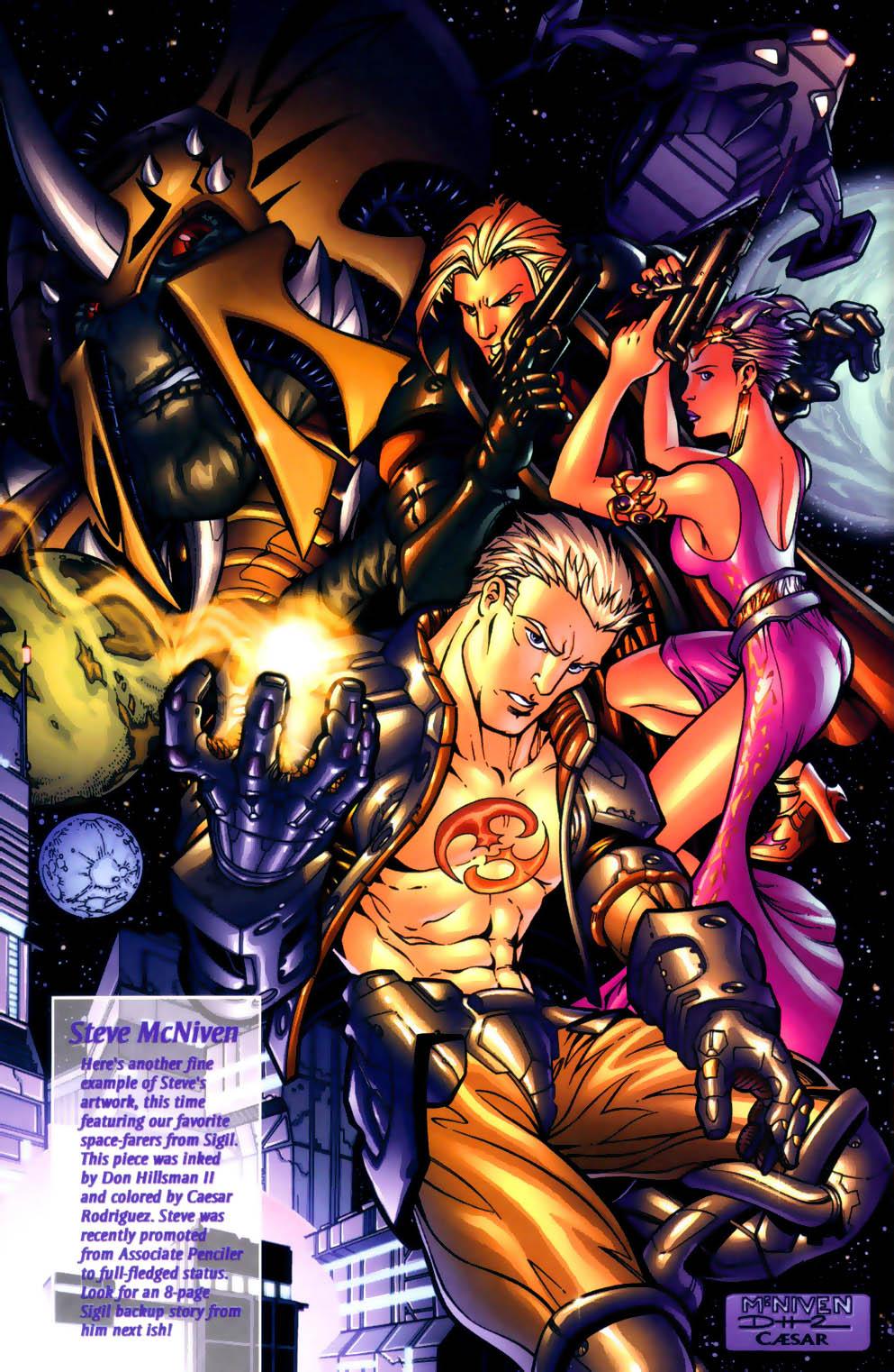 Read online Sigil (2000) comic -  Issue #2 - 30