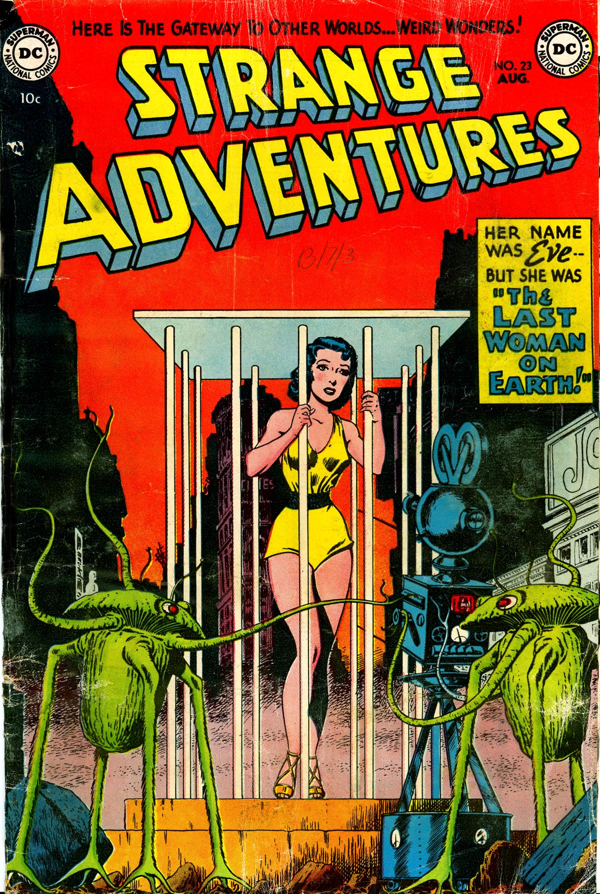 Strange Adventures (1950) issue 23 - Page 1