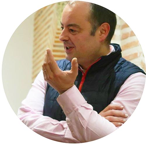 Sergio Calleja profesor de filosofía Segovia