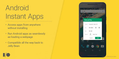 Google Apps Android Instant