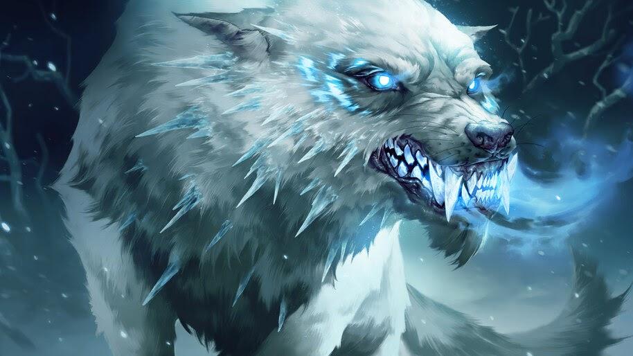 Rimefang Wolf, Legends of Runeterra, 4K, #3.1813