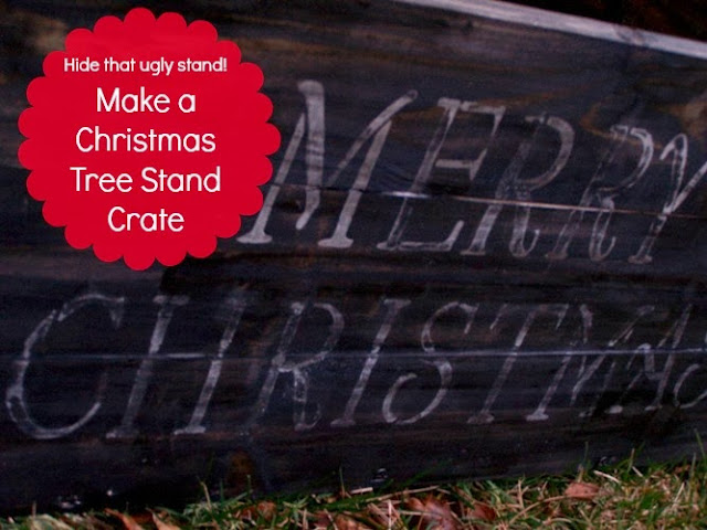 Christmas Tree Stand Crate by 504 Main
