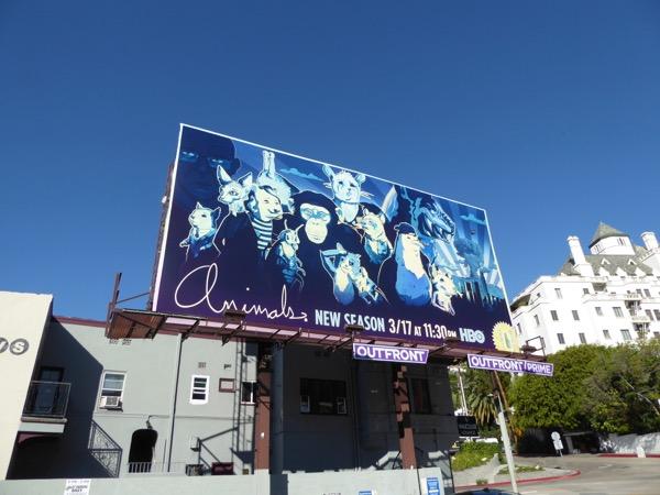 Animals season 2 billboard