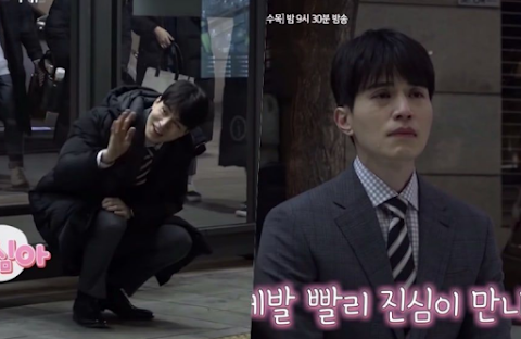 "Lee Dong Wook en  ""Touch Your Heart"" bromea en grabaciones desde el set"