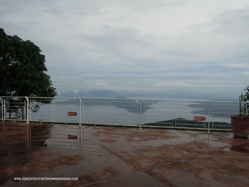 View of Taal Lake in Tagaytay