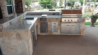 Custom Outdoor Kitchen DFW 16
