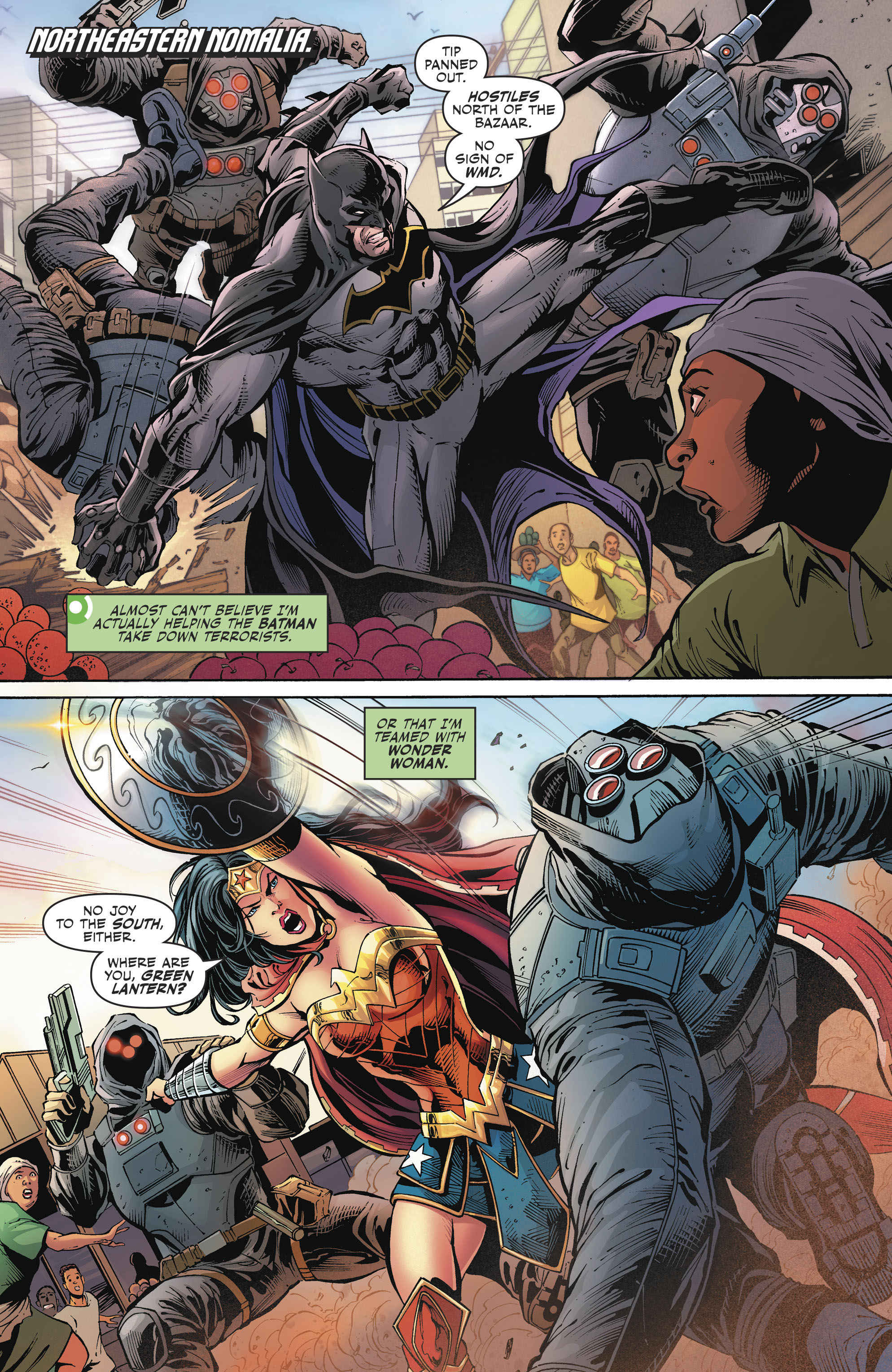 Read online Justice League (2016) comic -  Issue #23 - 4