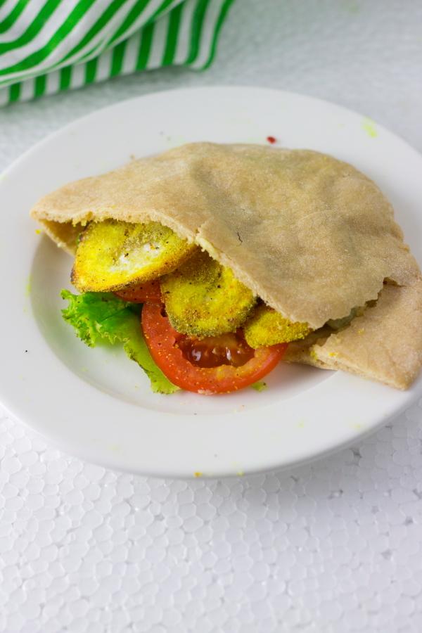 Balekayi balekayee podi kelyachi kapa raw banana fry vegan snacks indian goan maharashtrian