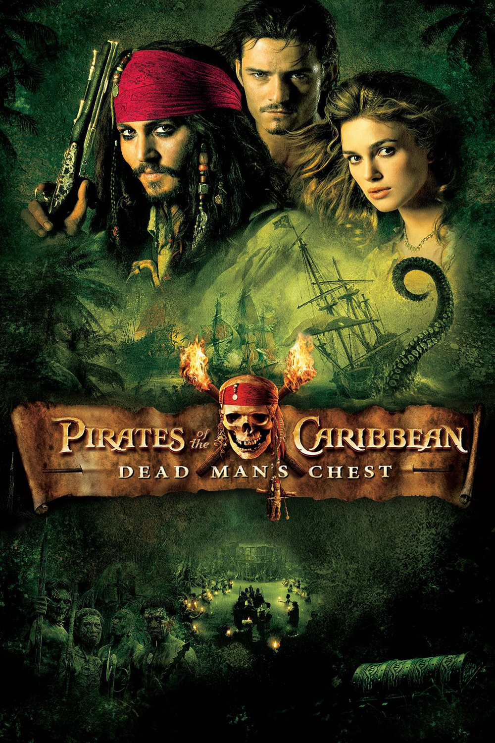 Movies World By Glittering Aime Pirates Of The Caribbean Dead Man S Chest