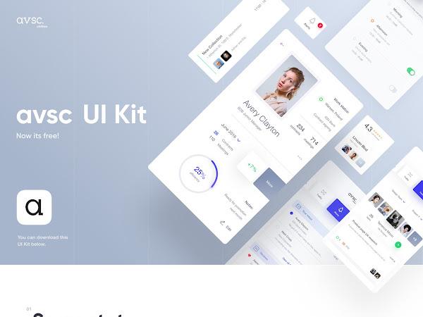Download AVSC. Vector UI Kit Free