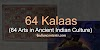 64 KALAS - 64 ARTS IN ANCIENT INDIAN CULTURE