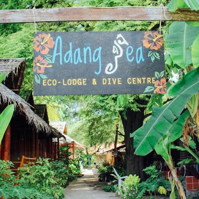 Photo of the eco lodge on Ko Lipe