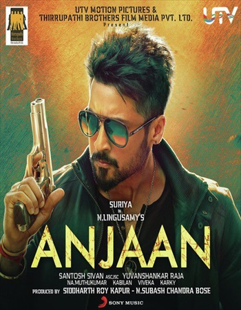 Anjaan 2014 Dual Audio Hindi Bluray Download