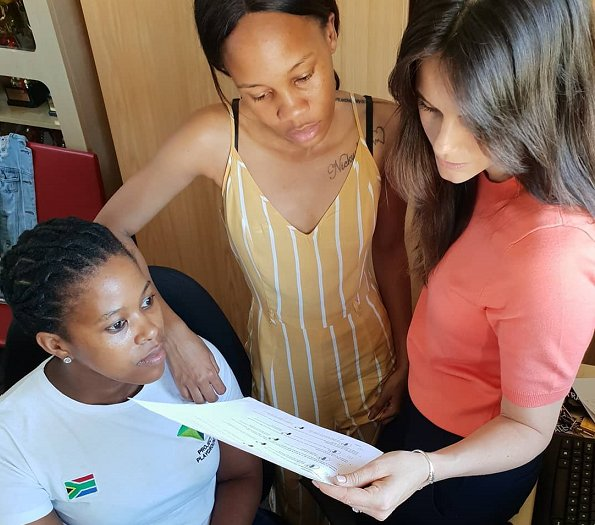 Swedish Princess Sofia visited South Africa this week to work with the team of Project Playground