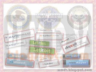 Логотипы популярных файлообменников