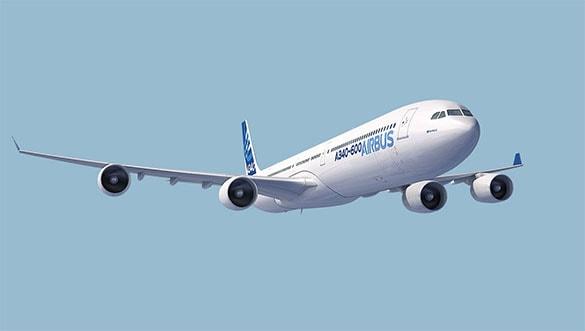 Pesawat terbang terbesar dan tercanggih Airbus A340-600