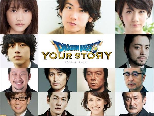 Takeru Sato Akan Menjadi Seiyuu Di Film Dragon Quest: Your Story