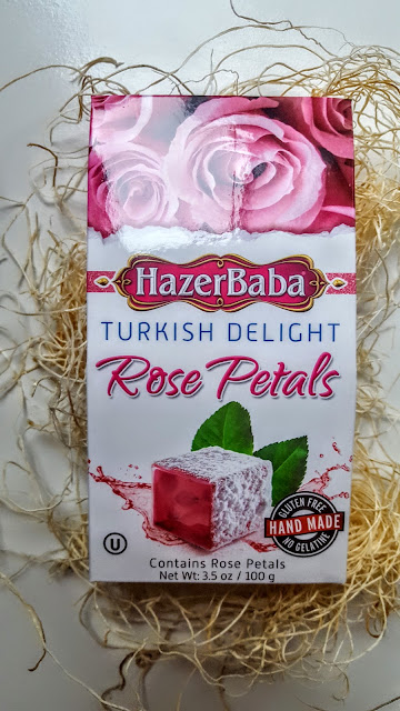 rose petal turkish delight