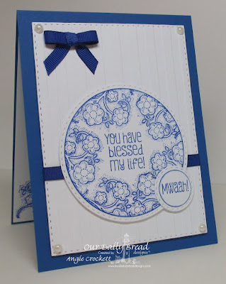 ODBD Be Joyful, ODBD Custom Double Stitched Rectangles Dies, ODBD Custom Double Stitched Circles Dies, Card Designer Angie Crockett