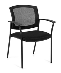 mesh back visitors chair