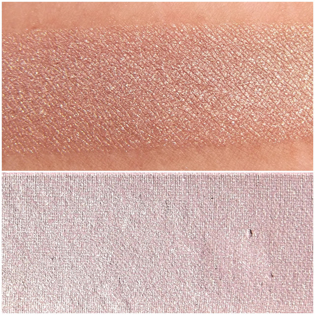TOO FACED eyeshadow swatche : Champagne Truffle