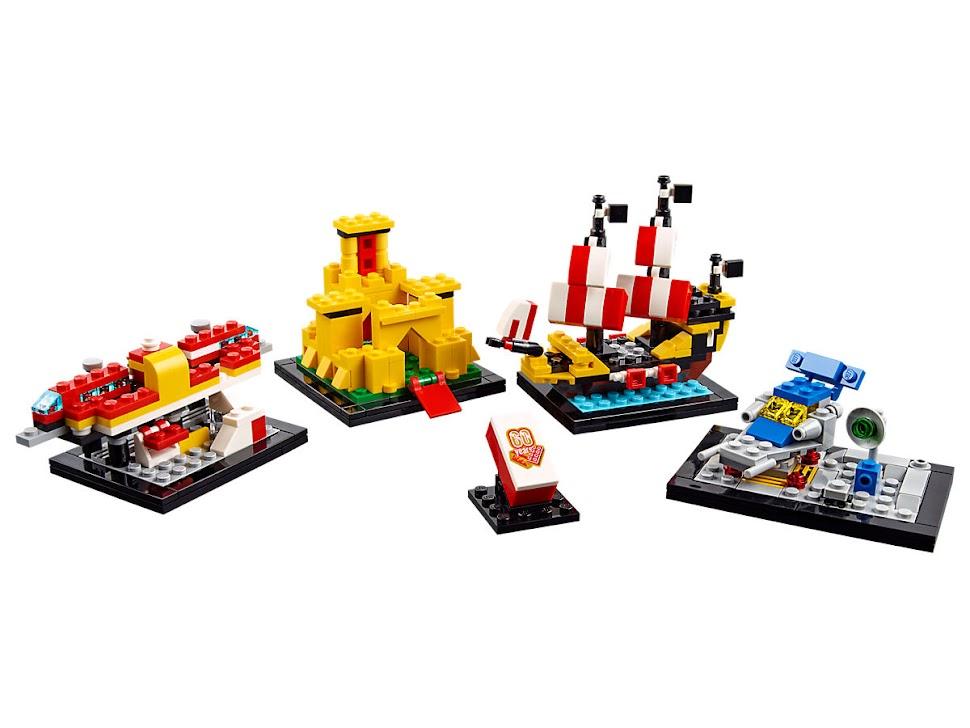 LEGO 40290 - 60 lat klocków LEGO®