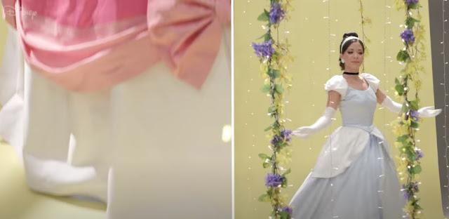 #DisneyMagicMoments X #Cinderella70, Cinderella Transformation Dresses, Disney