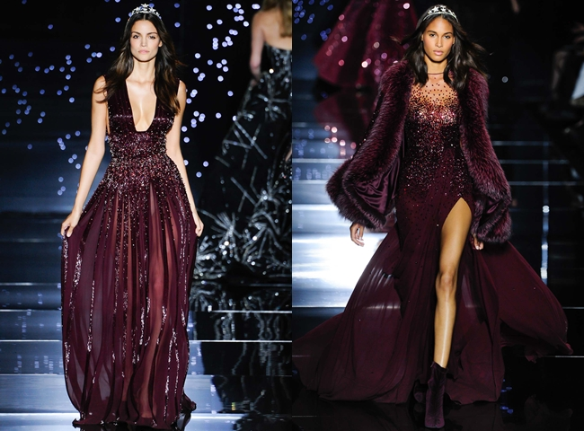 ZUHAIR MURAD fall winter glamorous collections