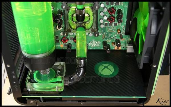 Um case-mod tunado do famigerado console da Microsoft - Icon