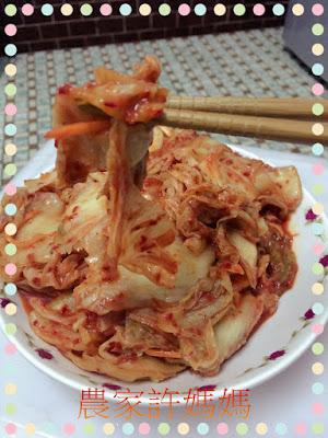 很有特色如何製作韓國泡菜-許媽媽韓國泡菜