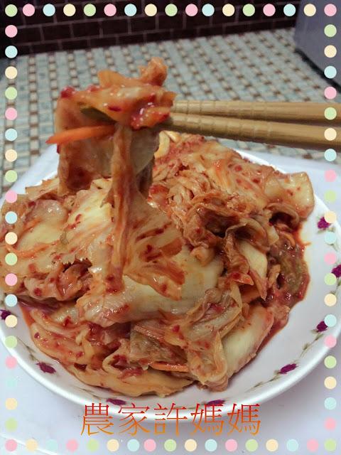 低熱量白蘿蔔韓國泡菜-農家許媽媽韓國泡菜敲好吃