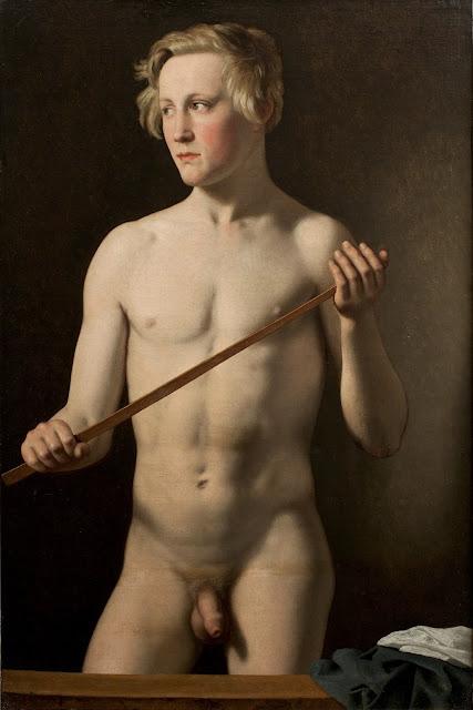 Christoffer Wilhelm Eckersberg: Modello in piedi
