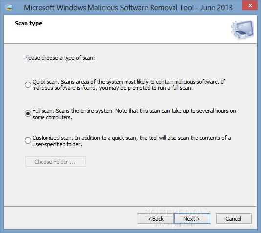 تحميل برنامج كشف الاختراق وفحص الفيروسات للكمبيوتر مجانا Microsoft Malicious Software Removal Tool 5.34.12400