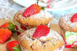 Strawberry & Cream Cheese Muffins