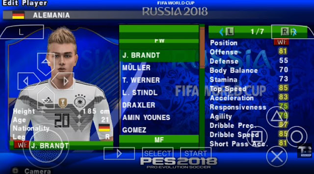 Download game fifa 2018 psp android | Download PES 2018 ISO File PSP