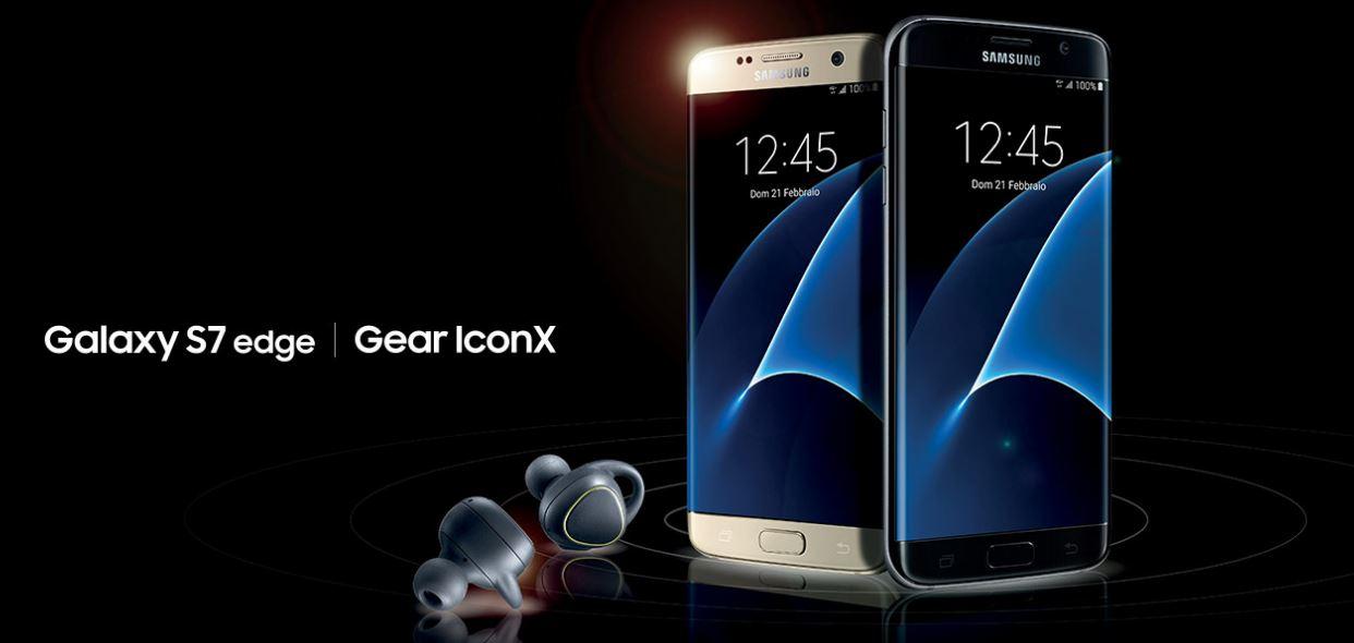 Come ricevere cuffie Samsung Gear IconX gratis acqustando S7 e S7 Edge