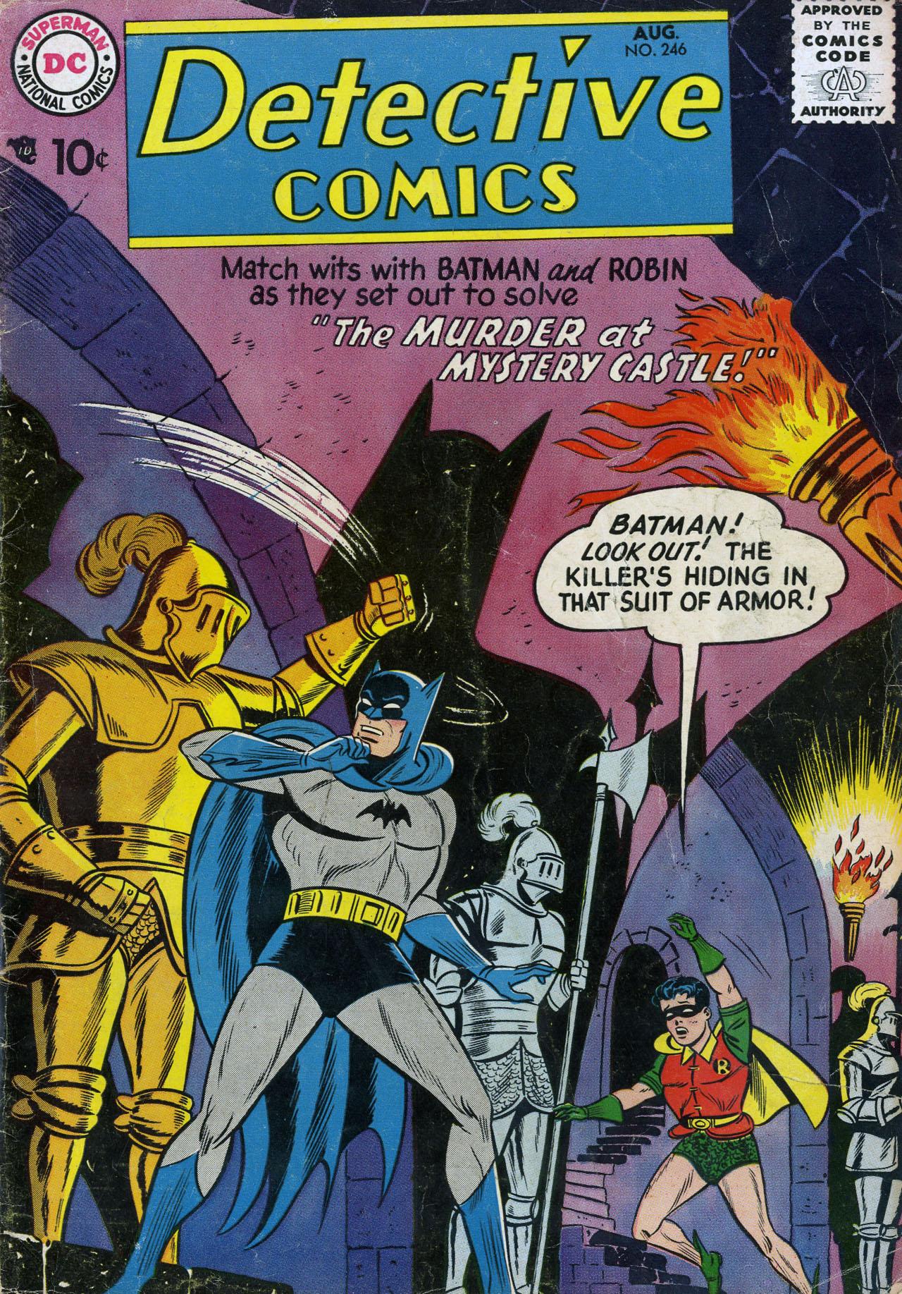 Read online Detective Comics (1937) comic -  Issue #246 - 1