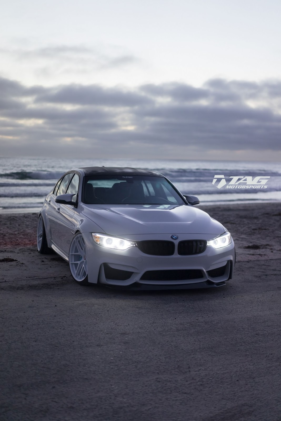 All White Bmw M3 Is A Unique Tuning Project Carscoops